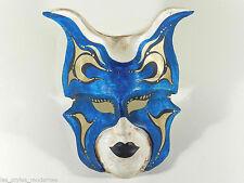 Vintage Italy Mask ° viejo venzianische carnaval máscara ° a mano única máscara
