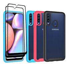 For Samsung Galaxy A51 A71 4G/A20S Hybrid Armor Hard Case Cover+Screen Protector