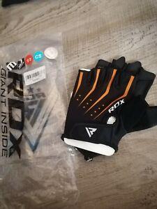RDX Weight Lifting Gloves Gym Fitness Bodybuilding Workout Wrist junior