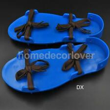 Banded Type Antiskid Plastic Spike Shoes for Industrial Flooring Project