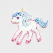 Unicorn, iron on motif 45mm approx
