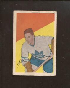 1952-53  PARKHURST   # 43   JIM THOMSON   Toronto Maple Leafs   Good-Very Good