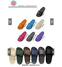 MONOBO Monica 8 SHOES Vintage Sandals Shoes Unisex  Made in Thailand Free ship.