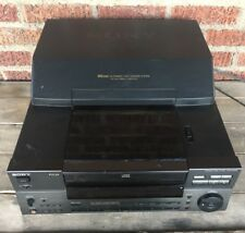 RARE Sony CDP-CX100 CD Changer 100 Disc Player NO Remote WORKS GREAT!