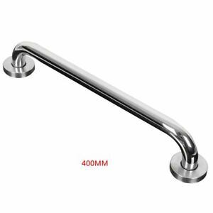 300/400/500mm Towel Grab Bar Stainless  Holder Wall Bar Handle Silver