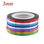 7 Rolls DIY Decal Striping Tapes Set Nail Art Stickers Laser Adhesive Line