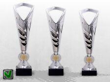 3er POKALE SilverStar Pokalserie mit Gravur TOP Preis & Design günstig kaufen