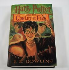 Harry Potter And The Goblet Of Fire American 1st Edition 1st Print 2000