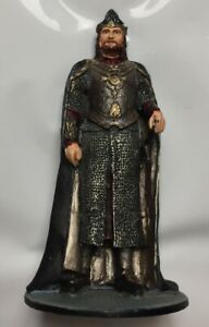 Lord Of The Rings Collectable Metallic Figure Collection King Eleesar NLP 2004