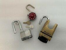 Master Lock 1177 Plus 2 other good locks.