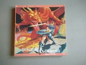 Dungeons & Dragons Jigsaw Puzzle Giant Red Dragon D&D