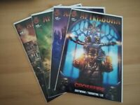 AFTERBURN CROSSFIRE #1-4 RED 5 COMICS COMPLETE SET MOVIE UPCOMING NEW NM/MT!!!