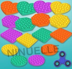 Push it Pop Antistress Spiel Spielzeug Kinder Beruhigungsspiel Fidget Spinner