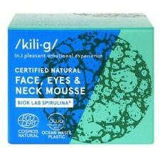 Kilig Cosmetics Certified Natural Face, Eyes & Neck Mousse 60ml BNIB RRP £11.99