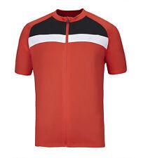 Maillot de Ciclismo Tricolor Dry Clim con Cremallera Transpirable Talla M 3775M