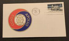 1973 Apollo-Soyuz COHO3 1975 Joint Misson Space Cover Houston TX