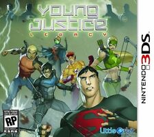 Young Justice: Legacy (Nintendo 3DS) Brand New