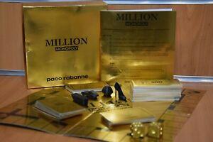 MILLION MONOPOLY Paco Rabanne Limited Edition Gioco da Collezione Originale