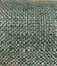 Performance Upholstery Sampson Aegean Green Chenille Fabric by the yard