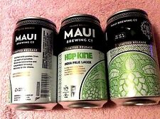New Limited Release Empty Maui Brewing Hop Kine Ipl Craft Beer 12 oz Can Hawaii