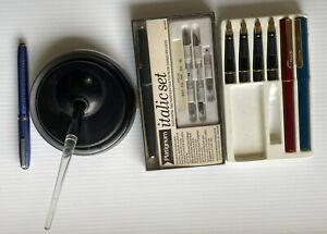 Vintage Calligraphy Pen - Esterbrook Fountain Pen & Dip Pen Holder, Panache Pen