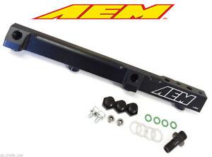 AEM Fuel Rail Honda Prelude 92-01 H22 H23 Honda Accord 90-93 F22 25-104BK