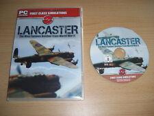 Avro LANCASTER Bomber Pc DVD Add-On Flight Simulator Sim 2004 & X  FS2004 FSX