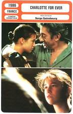 FICHE CINEMA : CHARLOTTE FOR EVER - Charlotte & Serge Gainsbourg 1986