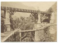 Francia per Identificare Vintage Albumina Ca 1875 Piccolo Formato 6,2x8,6cm