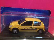 SUPERBE RENAULT CLIO II LA POSTE 2002 1/43 NEUF SOUS BLISTER B1