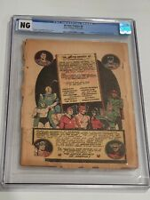 All Star Comics #8 CGC NG Coverless But Complete 1st App of Wonder Woman 1941