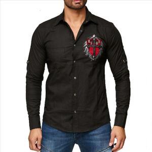 Kingz LEON Limited Edition Clubwear Hemd Alle Gr. Neu