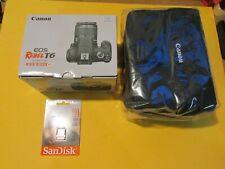 Canon EOS Rebel T6 Digital SLR Camera Kit w/ EF-S 18-55mm f/3.5-5.6 IS II Lens
