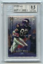 Randy Moss 1998 Topps Finest BGS 8.5 ABC357