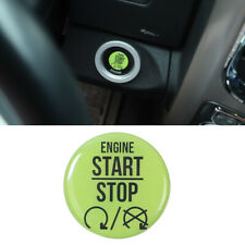 Engine Start Stop Switch Button Trim Green For Dodge Ram 1500 Charger Challenger
