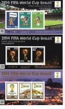 stamp 2014 FIFA WORLD CUP Brazil JAPAN POST official football soccer F/S