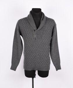 Paolo Pecora Men Wool Sweater Size M