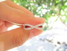 .49 Carat Diamond White Gold Infinity Ring 14k codeHE55 sepvergara