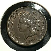 1890 UNITED STATES INDIAN CENT HIGH GRADE COIN