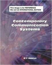 Contemporary Communication Systems by M. Farooque Mesiya (2012)Int Ed Paperback