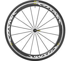 Mavic Cosmic Pro Carbon 700x25c Clincher Wts Front Wheel White/Black