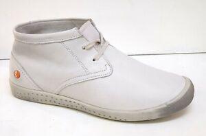 SOFTINOS Schuh Indira Smooth White Weiß P900161528 Damen Echtleder Schnürrer