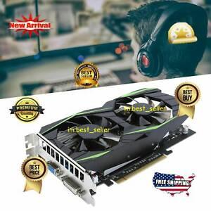 128Bit Computer Game Graphics Card 4GB DDR5 Video Memory Card For HDMI/DVI/VGA