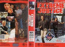 EXTREME JUSTICE - Scott Glenn -VHS -PAL -NEW -Never played! -Original Oz release
