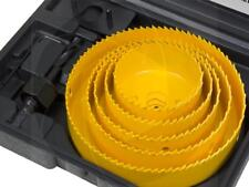 8pcs Round Hole Saw Set 64-127mm Wood Plastic Wall Boring Drill Circle Cutter