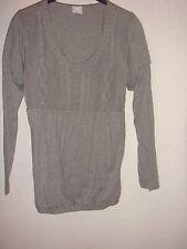 tee shirt t shirt manches longues gris camaieu taille 38/40