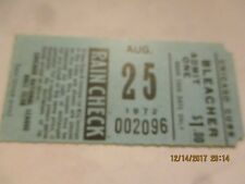 AUG 25 1972 TICKET STUB CHICAGO CUBS VS GIANTS - GIANTS WIN HENDERSON 2 HR 5 RBI