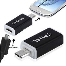 Micro USB HDTV MHL HDMI Adapter 5 to11 Pin Converter for Samsung Galaxy S3 i9300