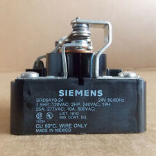 NEW Siemens SRD5AY024 Power Relay General Purpose Input 24VAC