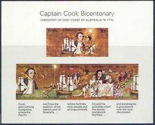 Australia 1970 COOK BICENTENARY Miniature Sheet Unhinged Mint SG MS465